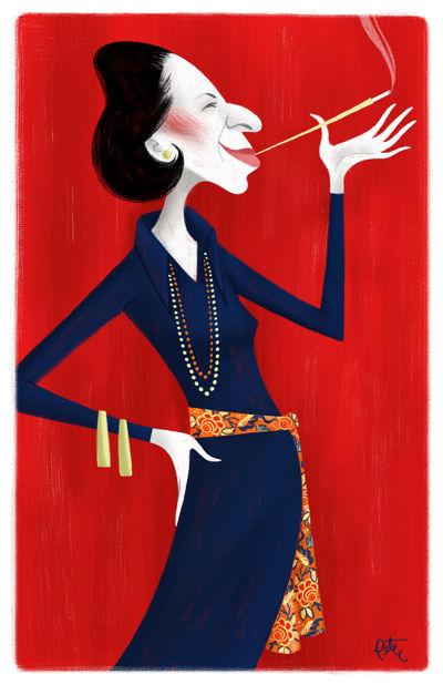 Diana Vreeland Art