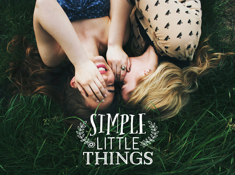 Girls on Grass - Simple Little Things