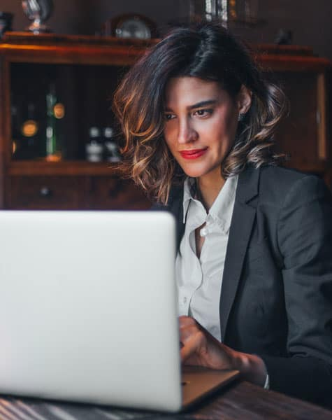 Woman Studying MOOC Knowledge Lover