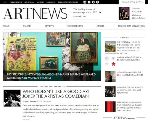 artnews magazines