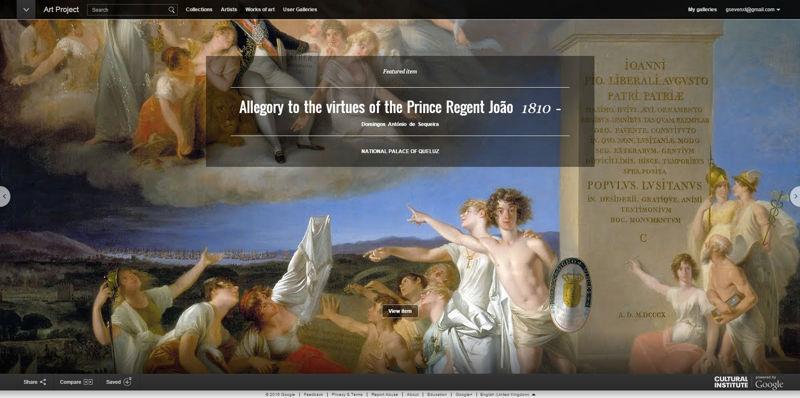 google art project website