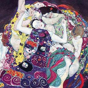gustav klimt the virgin painting
